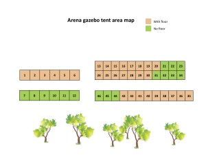 Arena gazebo tent area map - new 1 May